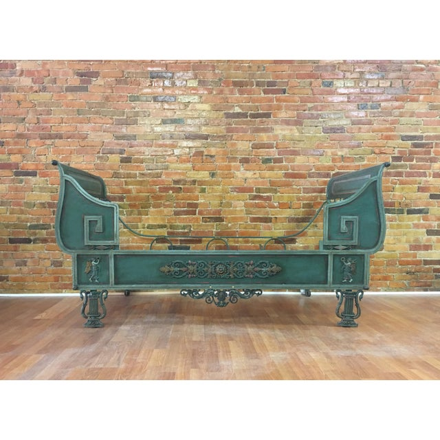 Antique French Iron Daybed For Sale - Image 12 of 12