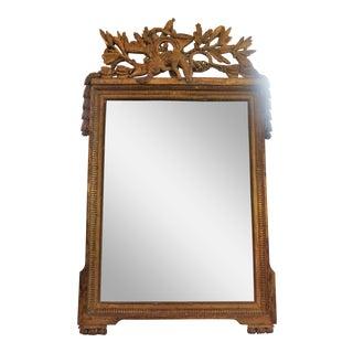 18th Century Louis XVI Trumeau Mirror For Sale