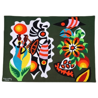 Mid-Century Modern South American Wall Art Tapestry by Kennedy Bahia For Sale