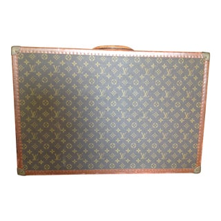 1950s Mid Century Modern Louis Vuitton Hardcase Luggage For Sale