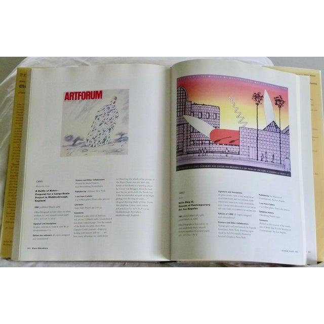 Claes Oldenburg: Prints, Posters and Ephemera, A Catalogue Raisonné. New York: Hudson Hills Press, 1997. First printing....