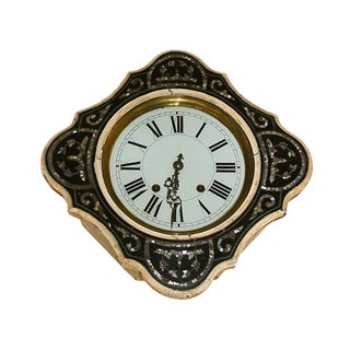 Antique Abalone Shells Inlay Clock