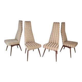 Adrian Pearsall Vintage Modern Dining Chairs - Set of 4