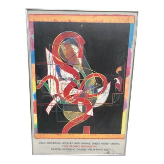 1980s Art Gallery Poster For Sale