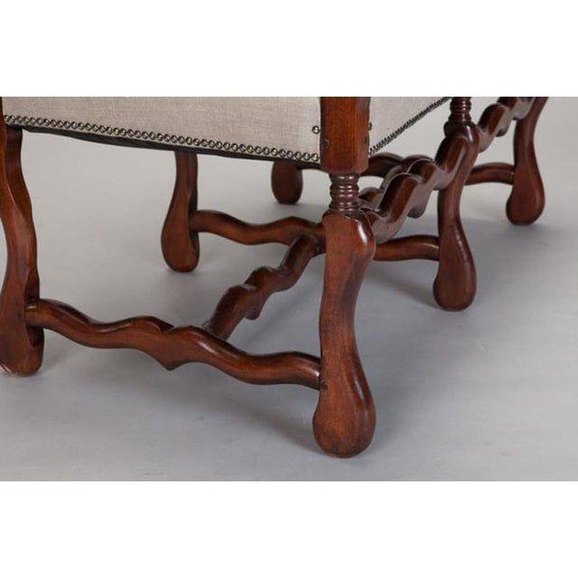 Os De Mouton Settee For Sale - Image 4 of 7