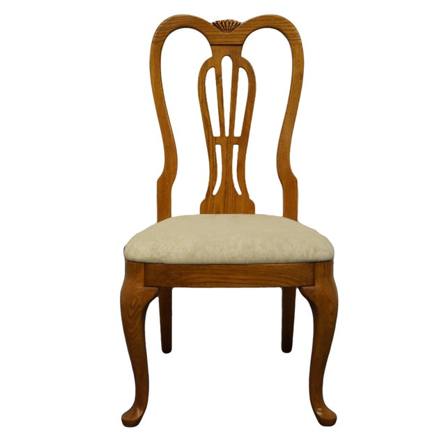 Pennsylvania House Solid Oak Country French Side Chair For Sale - Image 11 of 11