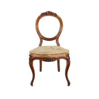 Deconstructed French Hall Chair For Sale