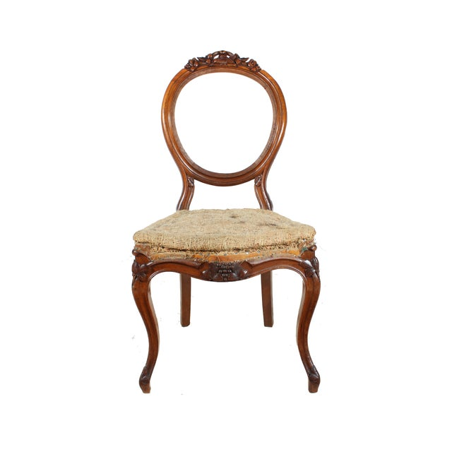 Deconstructed French Hall Chair - Image 1 of 4