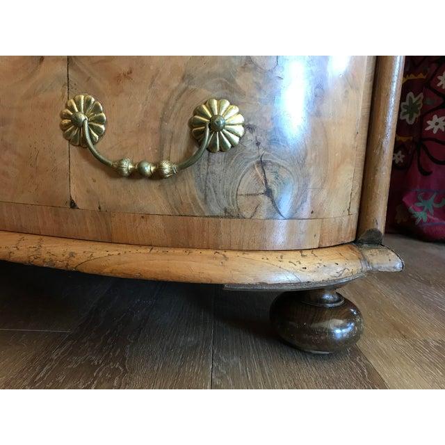 1700s Italian Drop Front Walnut Secretary Desk For Sale - Image 11 of 12