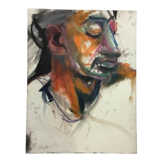 Rolando Rosler Abstract Portrait #8 For Sale
