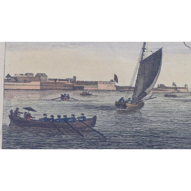 Engraving Havana Harbor in Cuba Print For Sale - Image 7 of 7