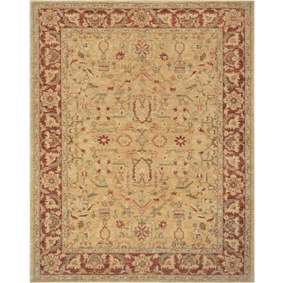 Mansour Fine Handmade Agran Rug For Sale