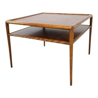 Mid Century Walnut Coffee Table Designed by t.h. Robsjohn-Gibbings for Widdicomb For Sale