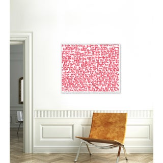"""Large """"haha Pink Two"""" Print by Kate Roebuck, 41"""" X 31"""" Preview"""