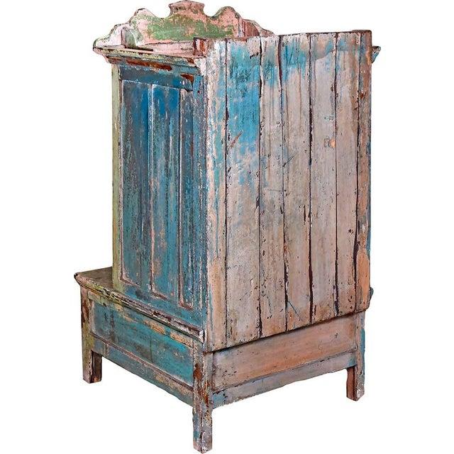 Pink & Green Bygone Boudoir Cabinet For Sale - Image 4 of 4