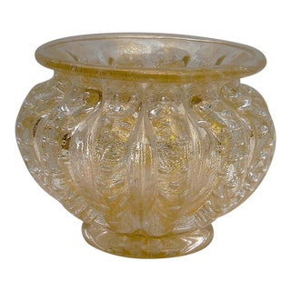 1940s Vintage Ercole Barovier Bowl For Sale