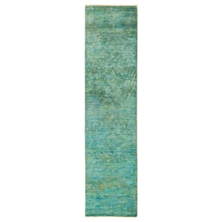 """Hand Knotted Runner - 2'2"""" X 10'4"""""""