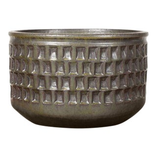 Christian Boehr Ceramic Stoneware Planter For Sale