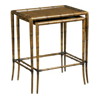 Modern Linwood Nest of Tables- a Pair For Sale