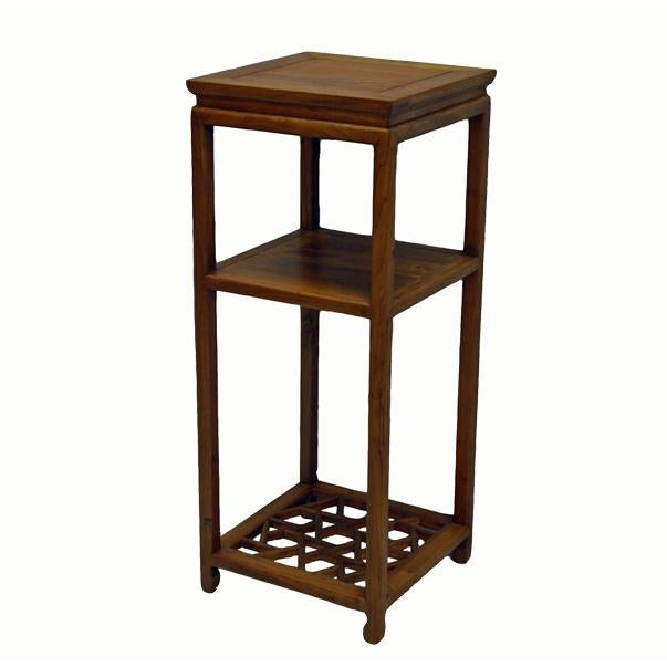 Chinese Tall Icicle Accent Table For Sale - Image 4 of 4
