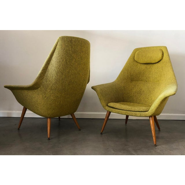Danish Modern Torbjorn Adfal Butterfly Chairs, a Pair For Sale - Image 3 of 9