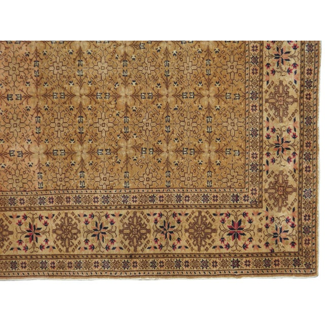 "Vintage Turkish Sivas Rug - 6'8"" X 9'3"" - Image 2 of 3"