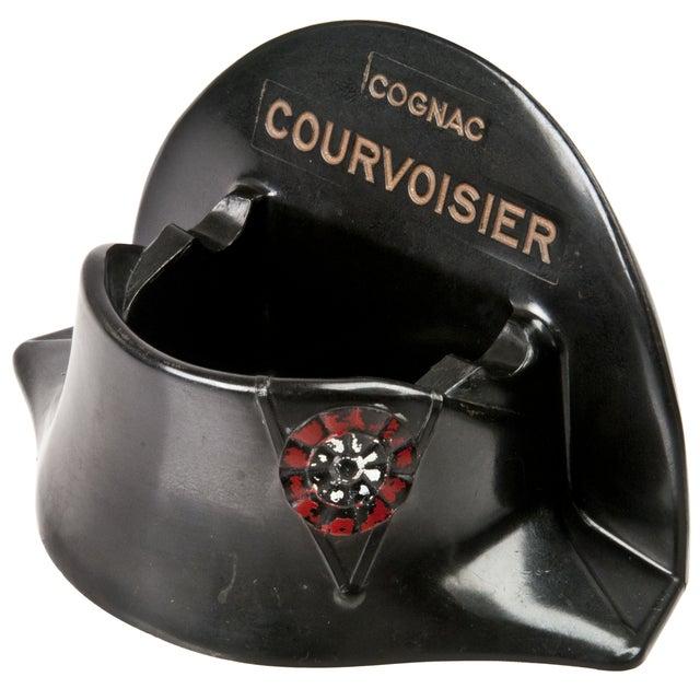 French Courvoisier Bakelite Bicorne Hat Ashtray - Image 2 of 4