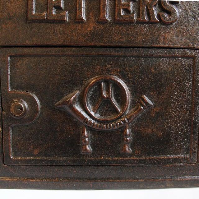 Antique Iron Mail Box - Image 5 of 5