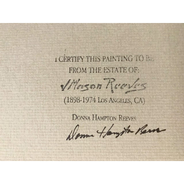 J. Mason Reeves Original Nude Drawing 1962 For Sale In New York - Image 6 of 7