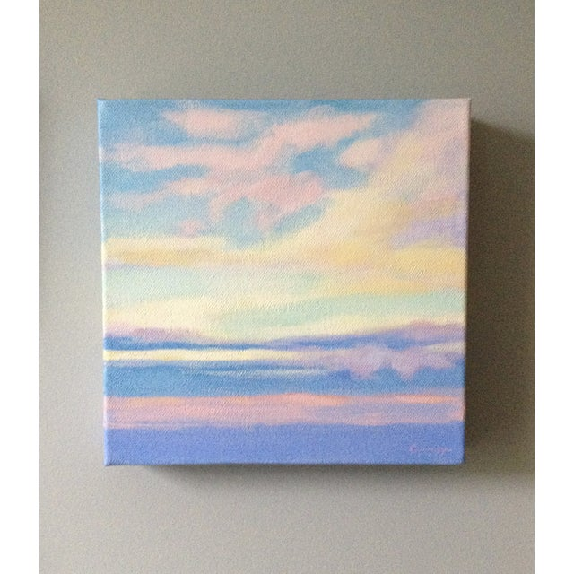"""Morning Sky"" Painting - Image 3 of 4"