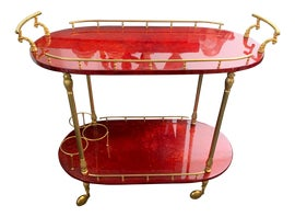 Image of Mid-Century Modern Bar Carts and Dry Bars