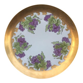 Eamag Bavaria China Hand Painted Platter For Sale