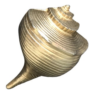 Ted Arnold Ltd Brass Seashell For Sale