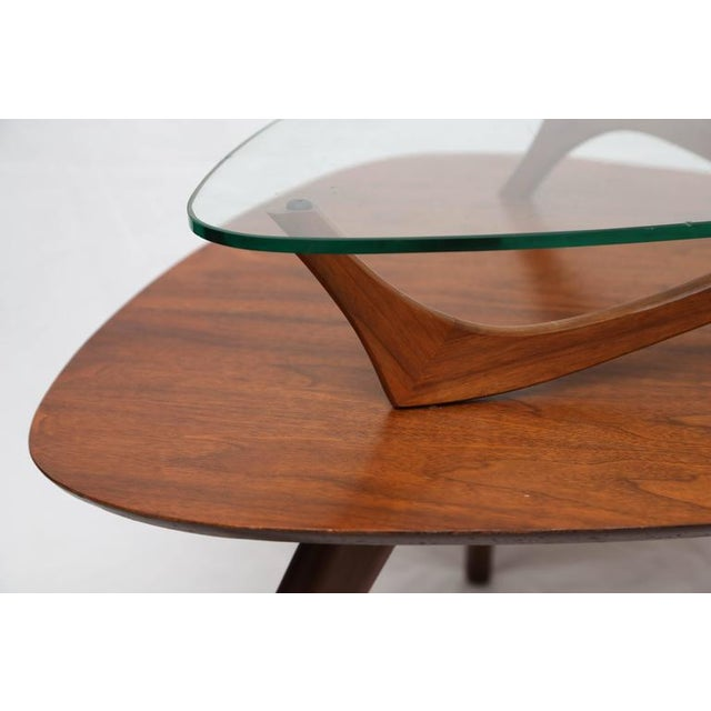 1960s American Vladimir Kagan Style Side Table For Sale In Miami - Image 6 of 8