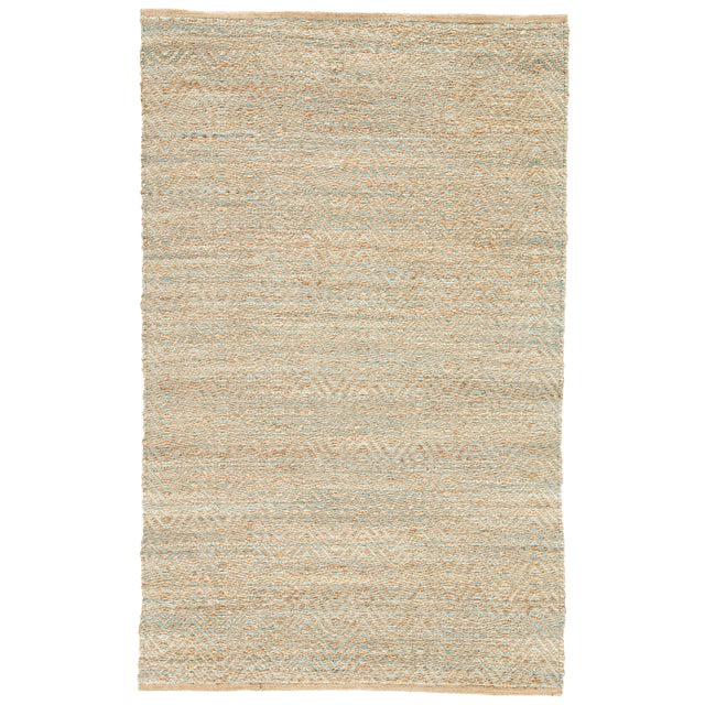 Jaipur Living Reap Natural Chevron Tan & Green Area Rug - 9'x12' For Sale In Atlanta - Image 6 of 6