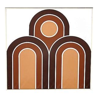 1970s Mark Warren Wall Mirror For Sale