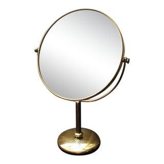 Vintage Vanity Tabletop Vanity Mirror For Sale