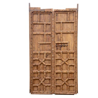 Pair of Antique Sri Lankan Doors For Sale