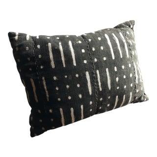 1990s Vintage Mudcloth Kidney Pillow For Sale