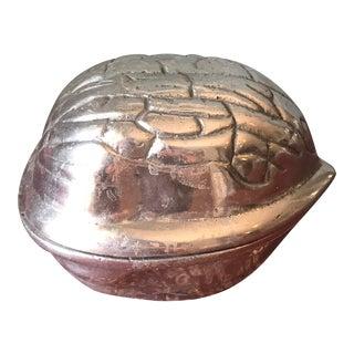 Silver Walnut Box For Sale