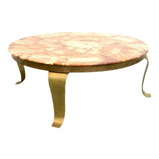1970s Mid Century Modern Arturo Pani for Muller Coffee Table For Sale