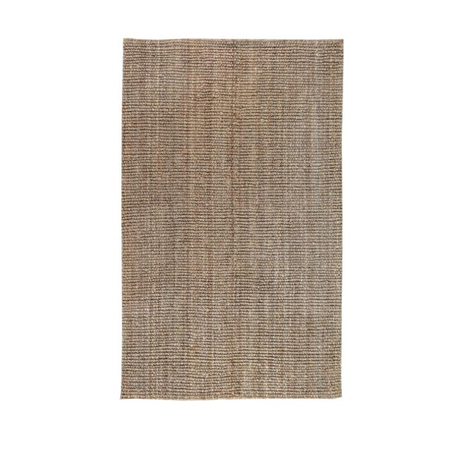 Chunky Loop Natural Rug - 5' x 8' For Sale