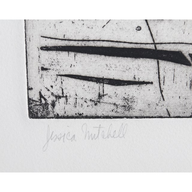 Jessica Mitchell, Strange Journey, Etching - Image 2 of 2