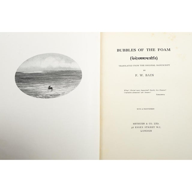Traditional Bubbles of the Foam by F.W. Bain For Sale - Image 3 of 7