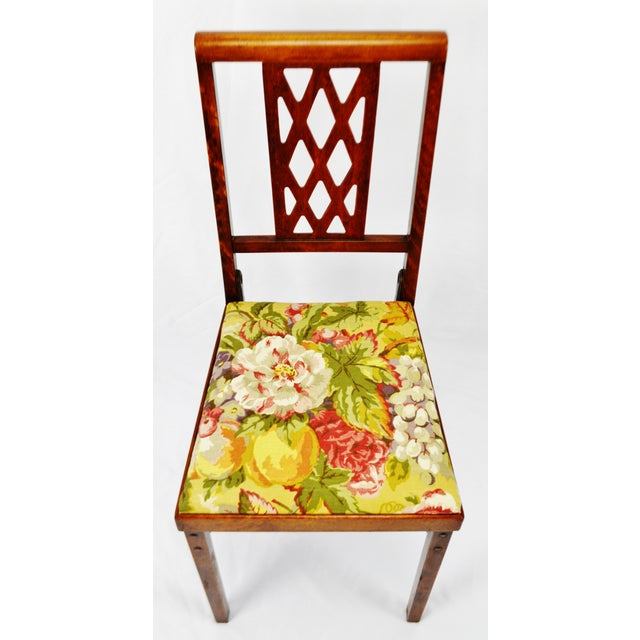 Vintage Leg O Matic Folding Chair For Sale - Image 5 of 11