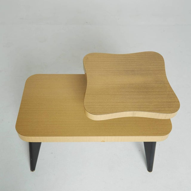 Two-Tier Mid-Century Side Tables - A Pair - Image 7 of 7