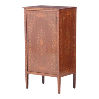 Early 20th Century Edwardian Mahogany Cabinet For Sale