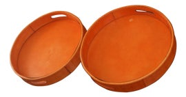 Image of Leather Trays