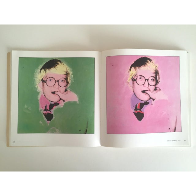 """""""Warhol Portraits of the 70's"""" Vintage 1979 Rare 1st Edition Collector's Art Book For Sale - Image 5 of 11"""