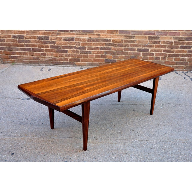 Mid-Century Danish Rosewood Coffee Table - Image 2 of 8